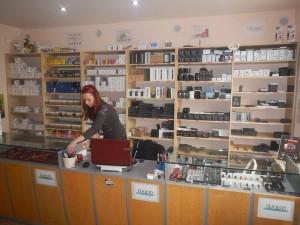 prodej elektronické cigarety
